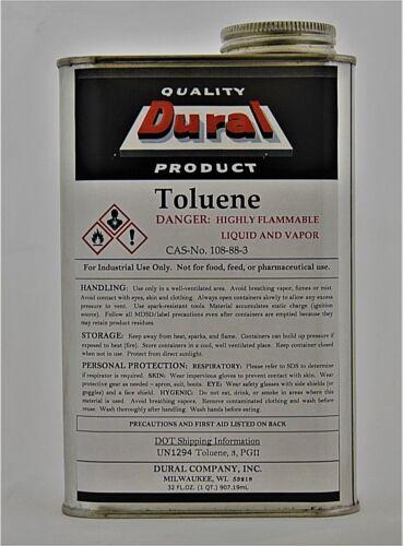 Toluene Half Gallon (2 quarts) -  Solvent and Thinner