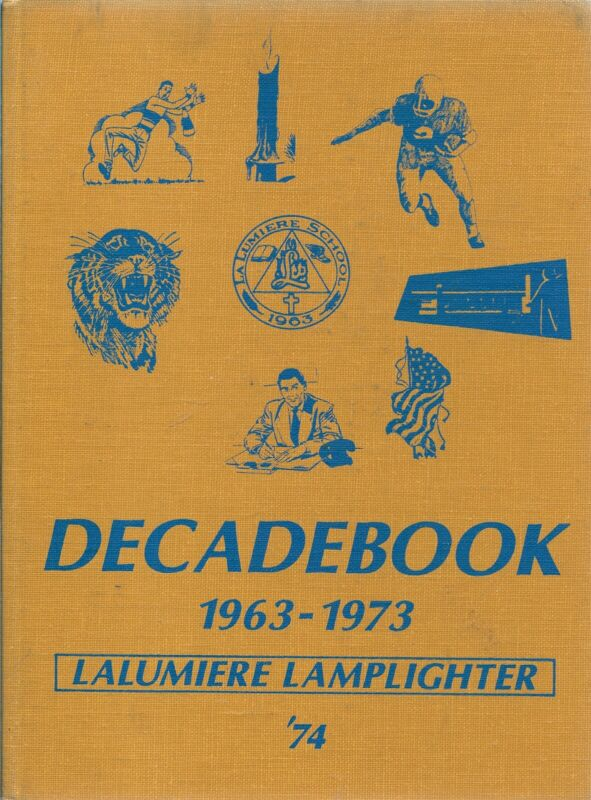 Yearbook La Lumiere School Springfield Township Indiana Lamplighter 1974