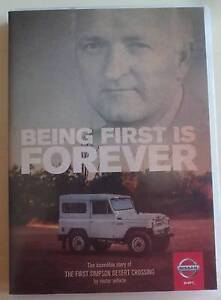 DVD: Being First Is Forever-the first simpson desert crossing Greenwood Joondalup Area Preview