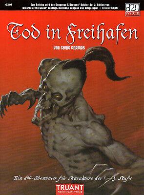 Dungeons & Dragons-Tod in Freihafen-Abenteuer-d20-(SC)-Truant-sehr selten