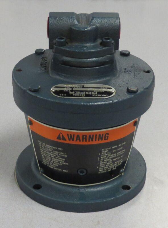 ROPER Mag Drive Gear Pump M/N: V10P1ATCDLH S/N: 183602