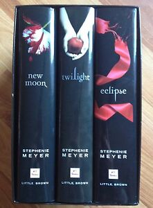 Hardcover twilight series in box 4 books