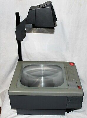 3m 9100 Overhead Projector Clean Tested New Bulbs Great Shape