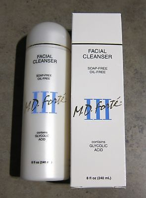 MD FORTE FACIAL CLEANSER III with GLYCOLIC ACID ~ DISCONTINUED  READ M.D. FORTE (Md Forte)