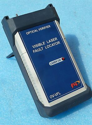 Fis Ov-vfl Fiber Optic Visible Laser Fault Locator