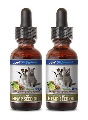 fatty acid supplement - HEMP SEED OIL 780MG FOR DOGS AND CATS 2B - cats anxiety