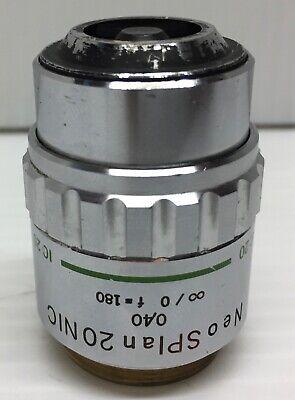 Olympus Neosplan20nic Microscope Objective