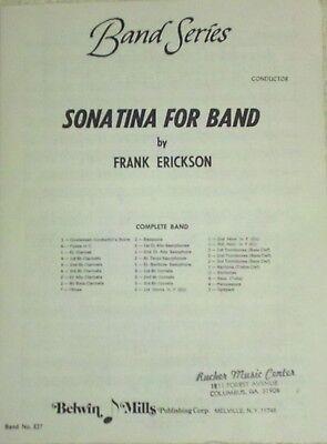 Sonatina for Band - Frank Erickson - Concert Band Sheet Music