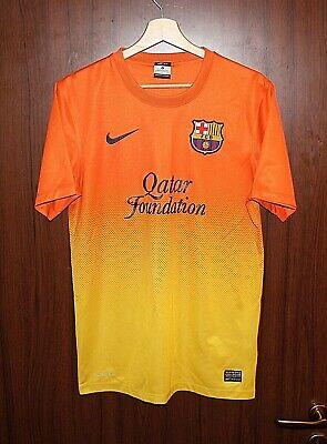 BARCELONA FC 2012 Football SHIRT Jersey NIKE size S Tricot Camiseta SPAIN image