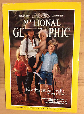 NATIONAL GEOGRAPHIC January 01 1991