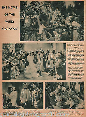 1934 Movie Drama Review-Caravan w Boyer & Young