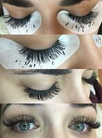 Eyelash extensions special $80 full set