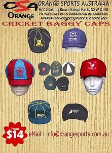 $16 CUSTOM BAGGY CAPS with CLUB LOGO Kings Park Blacktown Area Preview