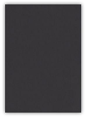 100 Blatt farbiges Premium Briefpapier Caribic DIN A4 Papier-Farbe Schwarz