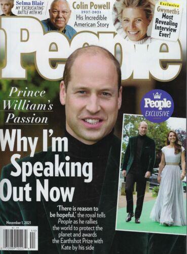 People Magazine November 1st 2021 Prince William