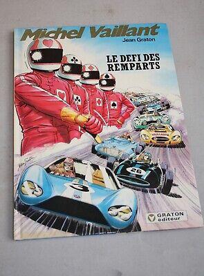 BD : Michel vaillant.Le défi des remparts.Jean Graton.Graton éditeur . 1988