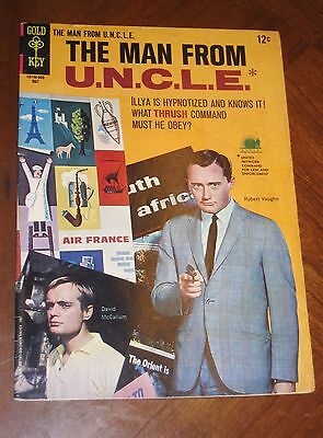 The Man From Uncle  6  1966  F Vf Cond  Photo Covers