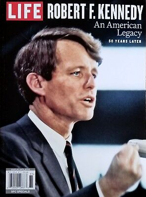 LIFE MAGAZINE ROBERT F. KENNEDY AN AMERICAN LEGACY 50 YEARS LATER 2018 NEW