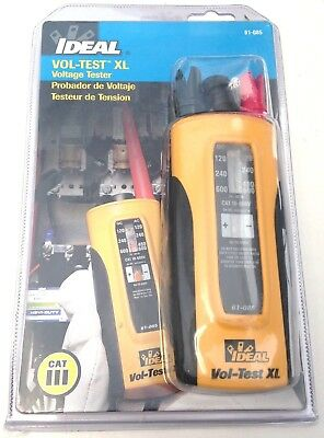 Ideal 61-085 Vol-test Xl Voltage Tester Cat Lll