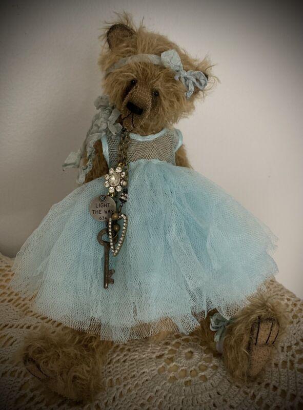 "Timeless Bears  'Miranda'  12"" Artist Mohair Teddy Bear"