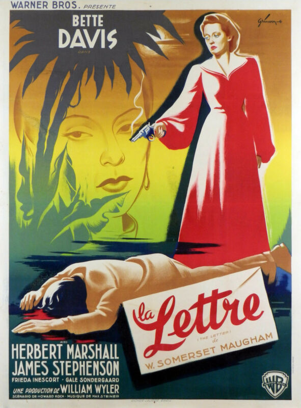 THE LETTER - ORIGINAL FRENCH POSTER