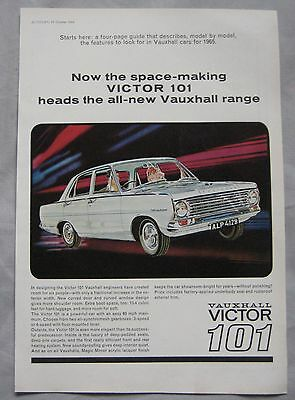 1964 Vauxhall Victor 101 Original advert