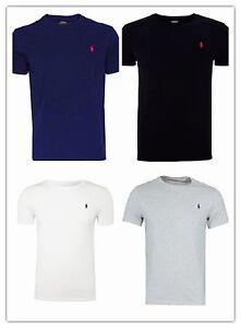Brand-new-men-039-s-Ralph-Lauren-Cotton-Short-Sleeve-Polo-T-Shirt-All-Sizes-S-XXL