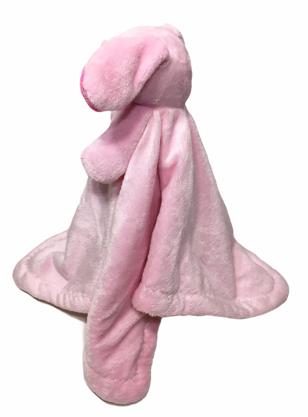 Blankets Beyond Pink Bunny Rabbit Security Blanket Lovie Lovey - $29.99