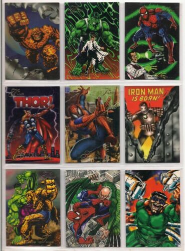 1994 FLAIR INAUGURAL  Marvel  Complete SET (150 Cards) NICE!!!