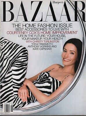 Harper's Bazaar June 1999 Christy Turlington Courtney Cox 091819AME2