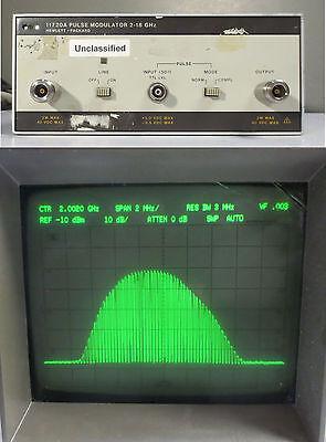 Hewlett Packard Agilent HP 11720A Pulse Modulator 2-18 GHz Hewlett Packard