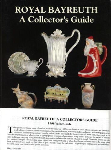 Royal Bayreuth Porcelain China 1,300+ Examples / Scarce Illustrated Book +Values