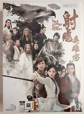 Chinese Drama The Legend of The Condor Heroes (2017) Complete DVD Series