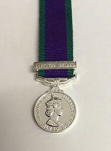 GSM-Miniature-Medal-Northern-Ireland-Clasp-CSM-General-Service-Mini-Army