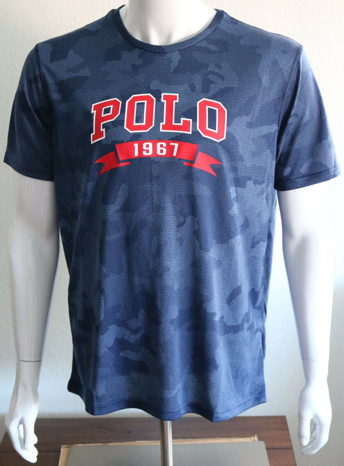 Men's Navycamo Lauren Classic Polo 710748401001 Various 1967 Shirt About Size Ralph Details T 3cRqL4AS5j