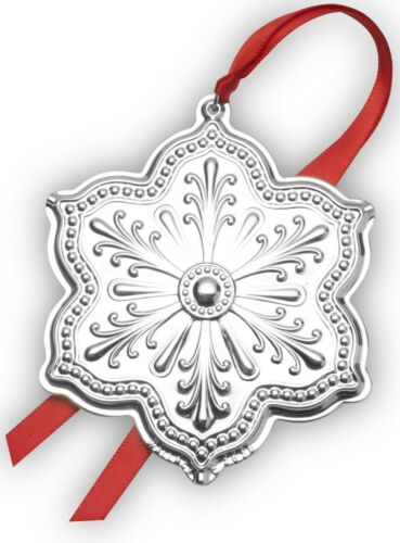 Wallace 2020 silver plated Snowflake Ornament, 1stEdition Brand NEW in Box