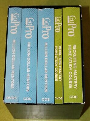 GoPro Recruiting Mastery Home Study Course Eric Worre DVD's & CD's with Workbook