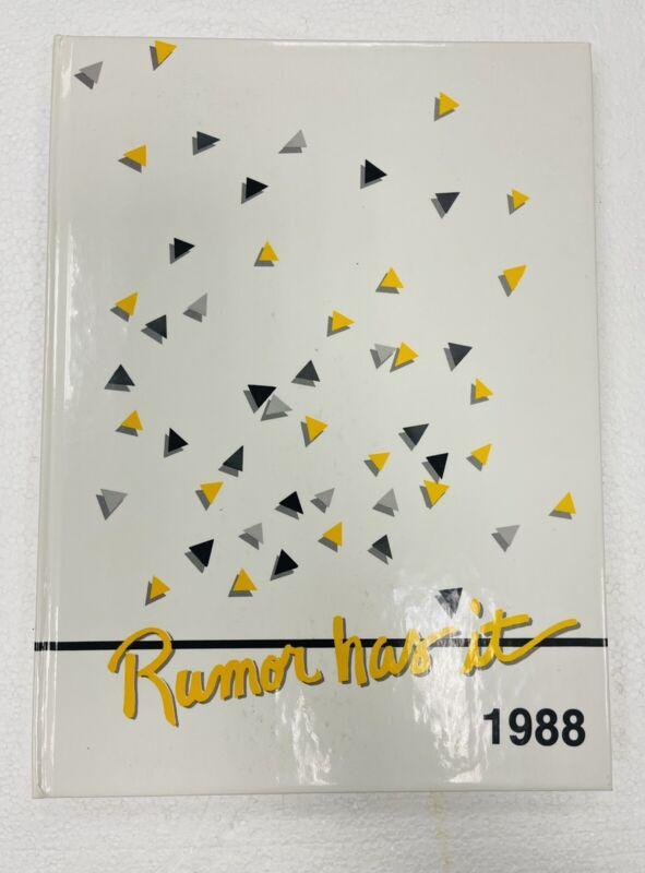 1988 HERSCHER Illinois High School Yearbook HI-REMINDER