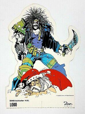 ©1998 DC Comics/Dino Verlag Aufsteller #16 LOBO/SANTA Weihnachtsmann - Superhelden Comics Teller