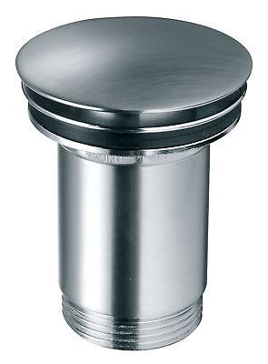Ablaufgarnitur für den Waschtisch Pop Up Ventil Waschbecken Ablauf Edelstahl Opt