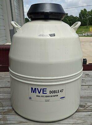 Mve Doble 47 Nitrogen 46 Liter Vapor And Liquid Storage