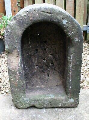 Antique Natural Stone Trough Basin Planter Sandstone similar to D shape