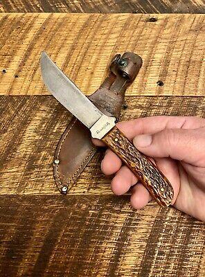 Old Vintage, Remington RH4a Fixed Blade, Hunting Knife, w Sheath 1920-1930's Cir