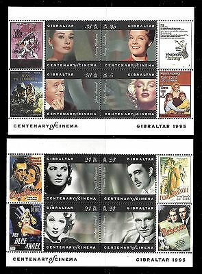 GERMANY. Motion Pictures. Cinema. 2 SS 1995. Scott 696-697. MNH (BI#24)