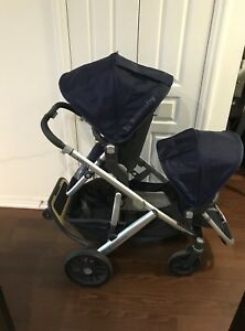 2016/2017 UPPAbaby vista double in excellent condition