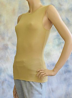 NWT RALPH LAUREN Petite Sz PXS  Round Neck Fine Knit Modal Sweater Shell Top