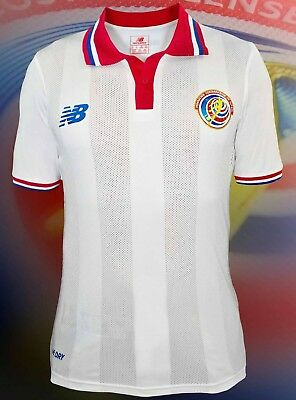 New Balance Costa Rica Away Soccer Match Jersey 2015 New With Tags Size Large image