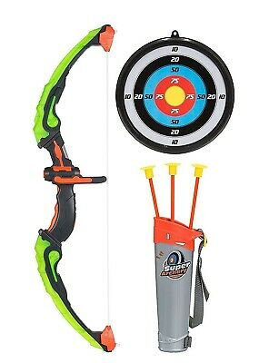 Bow and Arrow for Kids Toy Archery Set Indoor Outdoor Garden Hunting Game