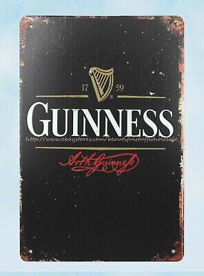 outdoor home decor online GUINNESS beer metal tin sign