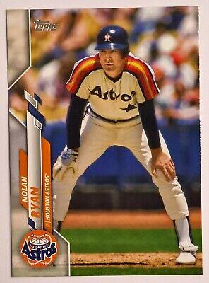 2020 Topps Series 1 Baseball PHOTO VARIATION SP Short Print NOLAN RYAN #260 Nolan Ryan Photograph